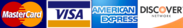 We accept Visa |  Mastercard |  Discover | AmEx credit/debit cards